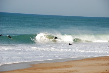 Surf coaching at Boardingmania Surf Scool in Seignosse