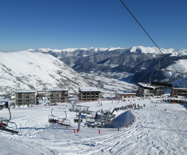 Ski in, ski out accommodation, France